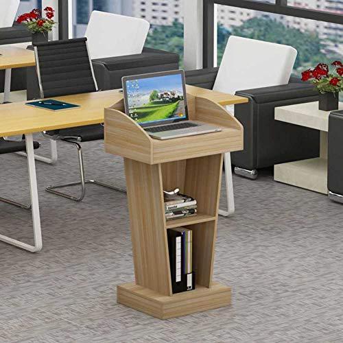SY-sy Rednerpult aufstehen,Improvisierten Podium Workstation Laptop Notebook Computer Stehen für die Schule Das unternehmen Tagungsraum-C 60x40x103cm