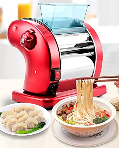 HAOGUO Máquina de Pasta eléctrica 220v, Máquinas de Pasta, Máquina para Hacer...