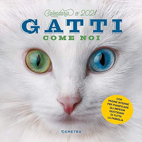 Gatti come noi. Calendario 2021 da parete (30 x 30)