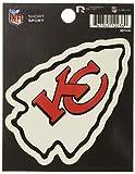 NFL Rico Industries Die Cut Team Logo Short Sport Sticker, Kansas City Chiefs
