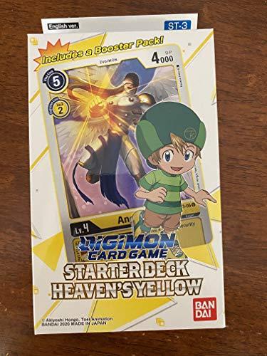 Digimon Kartenspiel: Starter Deck - Heaven's Yellow ST-3
