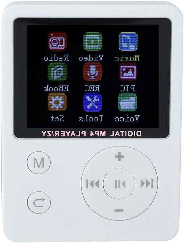 Luroze MP4 Player Music Japan's largest assortment Color Columbus Mall USB2.0 with Digitai Screen