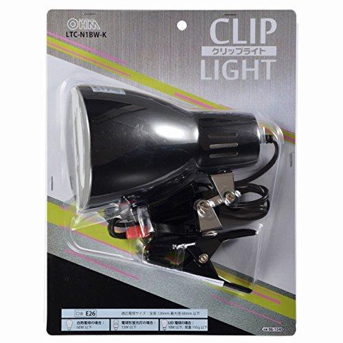 オーム電機『OHMクリップライトE26LTC-N1CW-K』