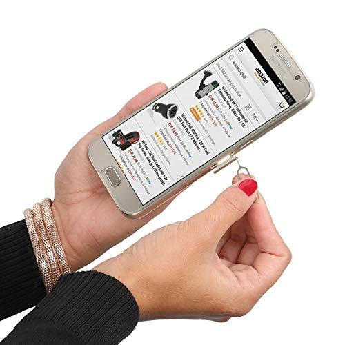 Wicked Chili Dual Sim Stanze und 4in1 Sim Karten Adapter Set (Nano, Micro, Standard, Eject Pin) für Handy, Smartphone und Tablet - 8