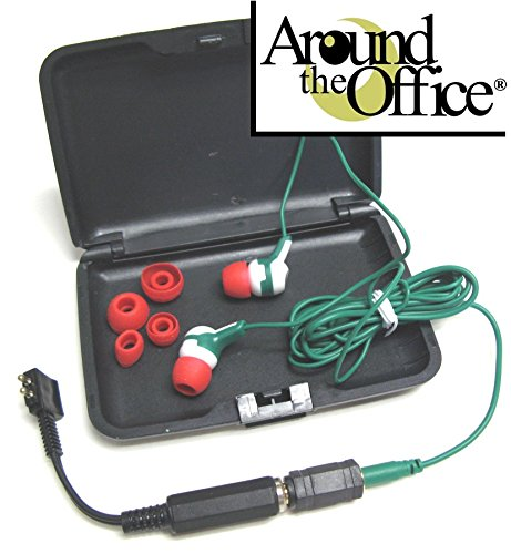 Dictaphone Model 2750 New Perfect Sound Series Comfortable Transcription Ear Buds by Around The Office