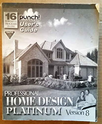 Punch! Home Design Architectural Series 3000 .. User