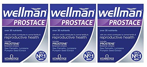 (3 PACK) - Vitabiotic - Wellman Prostate | 60 tablets per pack | 3 PACK BUNDLE