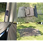 Outdoor Portable Waterproof Camping Pyramid Teepee Tent Pentagonal Adult Tipi Tent with Stove Hole 3