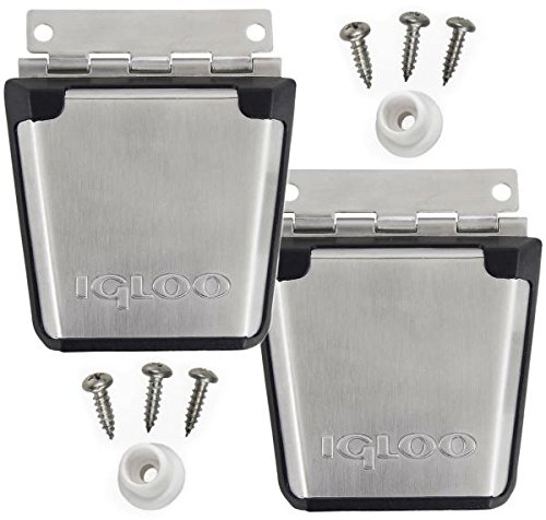 Igloo (2-Pack) Cooler Stainless Steel Latch and Single-Screw Attachment Post