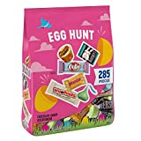 Contains one (1) 70.65-ounce bag of Assorted Egg Hunt candy, including HERSHEY'S Miniature Milk Chocolates, KIT KAT Miniatures, ROLO Candy, HERSHEY'S KISSES Milk Chocolates, WHOPPERS Malted Milk Balls and REESE'S Miniatures Peanut Butter Cups Fill sn...