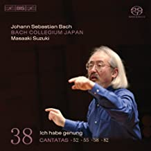 Suzuki/BCJ - J.S. Bach: Cantatas 52/55/58/82, etc. [SACD Hybrid] (Japan Import)