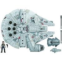 Star Wars Mission Fleet Han Solo Millennium Falcon Toys