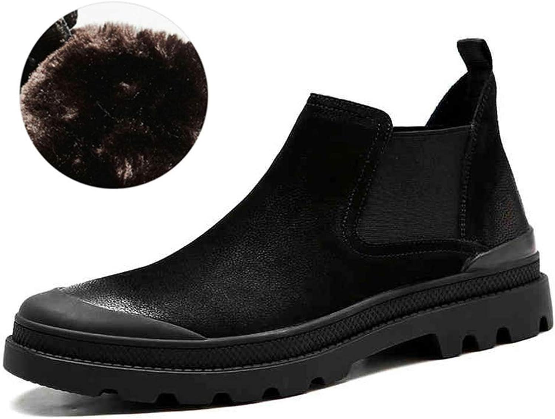 Stövlar Stövlar Stövlar från QIDI Martin stövlar män Keep Warm mode utomhus Movemänt Booslipss (färg  T -2, Storlek  US9  EU40  UK7)  online till bästa pris