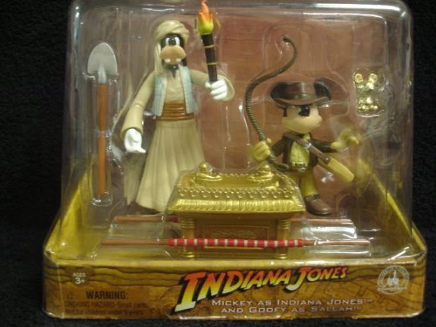 DISNEY PARKS EXCLUSIVE   Raiders of the Lost Ark - Mickey as Indiana Jones & Goofy as Sallah by Disney Parks