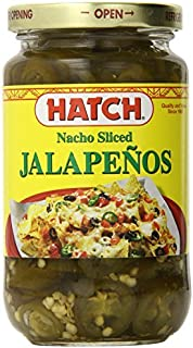 Hatch Nacho Sliced Jalapenos, 12 Ounce (Pack of 12) by Hatch