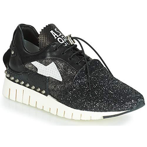 airstep / a.s.98 Denalux Sneaker Damen Schwarz - 37 - Sneaker Low Shoes