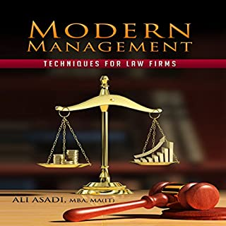 Modern Management Techniques for Law Firms audiobook cover art