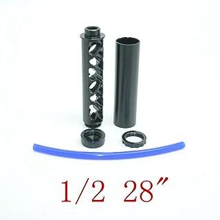New style Aluminum Black Fuel Filter 1/2 28
