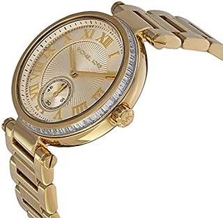 Michael Kors Skylar Champagne Dial Gold-tone Ladies Watch - MK5867