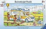 Ravensburger-06170 Ravensburger 06170-Puzzle per Bambini con carriola in Uso, Colore, 00.0...