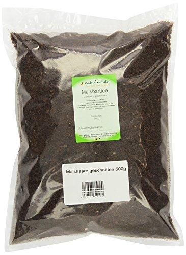 Naturix24 Maisbart, Maishaare geschnitten - Beutel, 2er Pack (2 x 500 g)