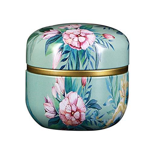 PowerBH Küche versiegelt Metall Tee Kanister 50ML Candy versiegelt Aufbewahrungsbox Home Schmiedeeisen Multifunktionalen Aufbewahrungsbehälter