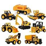 tianluo Vehículos de construcción Tractor Toy Dump Toy Mini Vehículos para Niños Regalo 8pcs / Set