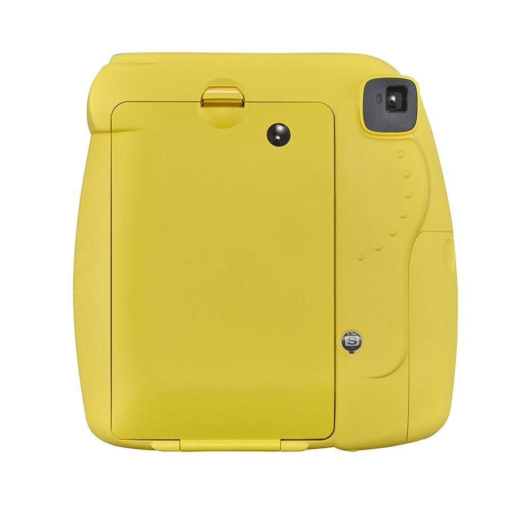 Fujifilm Instax Mini 9 - Cámara instantanea, Amarillo + Pack de 20 películas: Amazon.es: Electrónica