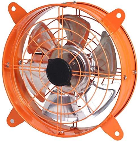 LITING Ventilador de ventilación doméstico Extintor Cocina Hogar Potente Extractor De Humos Extintor Ronda Ventilador De Ventilación De Doble Cara Cubierta De Malla Vidrios (Size : 12 Inches)