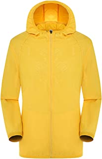 Placextre Ultra-Light Rainproof Windbreaker Jacket Breathable Waterproof Windproof for Women Men