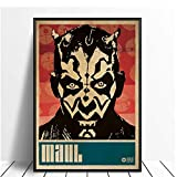 wzgsffs Darth Maul   Pop Art Minimalismus Vintage Movie