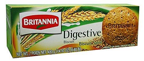 Britannia High Fiber Digestive Biscuit 14.1 Oz