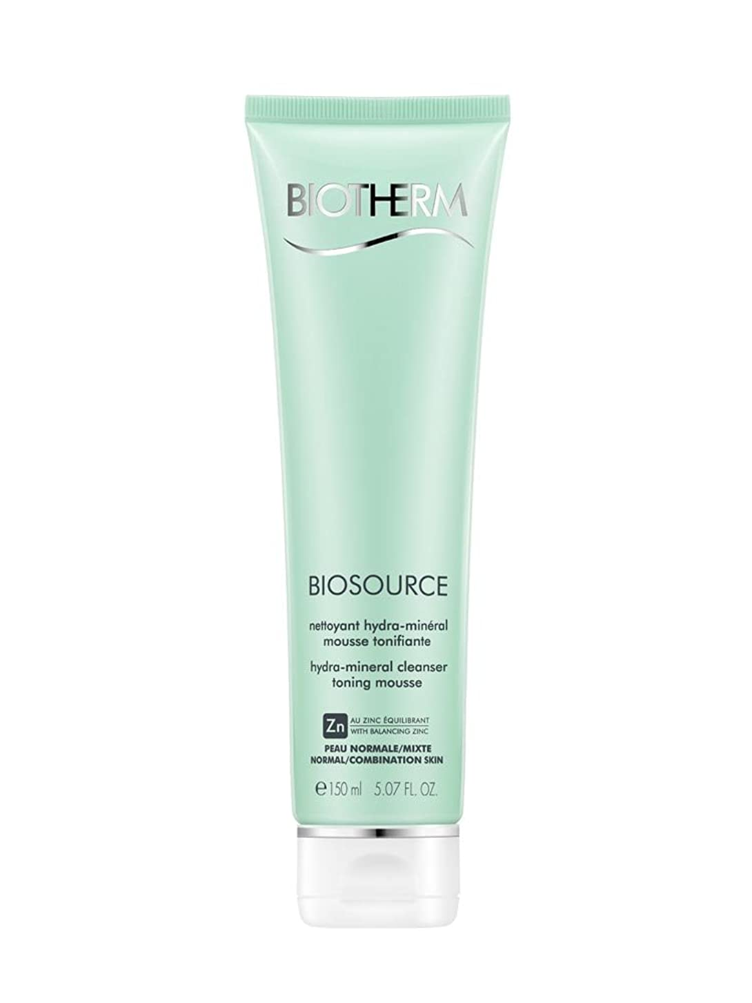 口頭切る牧草地ビオテルム Biosource Purifying Foaming Cleanser - Normal to Combination Skin 150ml/5.07oz並行輸入品