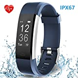 HolyHigh Waterproof Smart Watch Fitness Band with Heart Rate/Sleep Monitor Step/Calorie Counter Call...