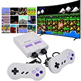 Classic Mini Retro Game Console with Built in 660 Games and 2 NES Controllers,NES Retro Console,AV Output TV Game Console for Kids and Adults