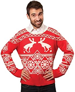 GlowUP Party Favors Ugly Christmas Sweater: Pooping Moose