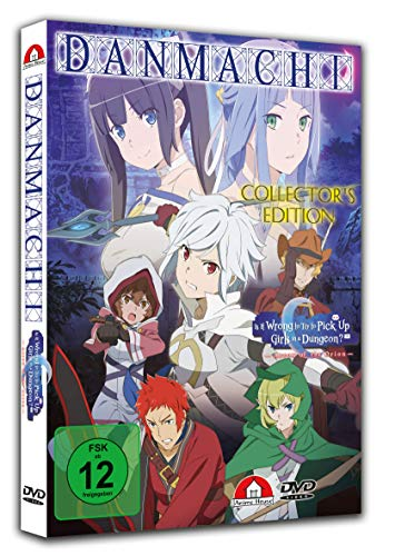 Danmachi: Arrow of Orion - The Movie - [DVD] Collector's Edition