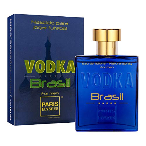 Vodka Brazil Blue Herren-Parfüm 100 ml Eau de Toilette Paris Elysees