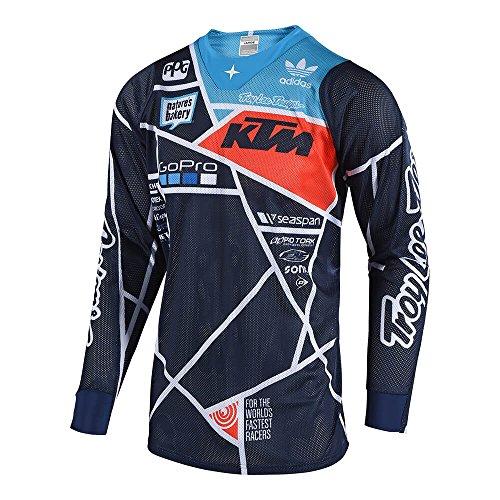 Troy Lee Designs Jersey Langarm KTM SE Air Blau Gr. XXL
