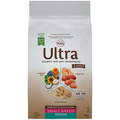 Nutro Ultra Small Breed Senior Dry Dog Food (1) 8 Pounds; Supports Heathy Teeth And A Strong Immune System; Rich In Nutrients And Full Of Flavor (Discontinued By Manufacturer)