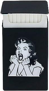Custodia per sigarette Slim Nero Pin Up Vintage