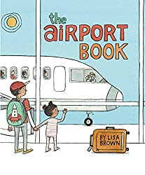 Children's books about Travel: The cover of the book: the Airport Book