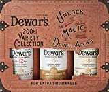 Dewar's Whisky Blended pack de 3 botellas de 200 ml de Dewar's 12, 15 y 18 años – 600 ml