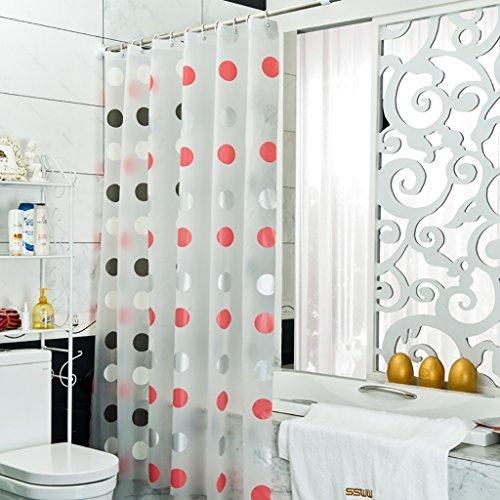 Rideaux de douche Rideau de douche tissu imperméable à l'eau chaude épaississement douche Rideau douche partition Rideau Rideau Rideau salle de bain rideau Rideaux de douche de haute qualité