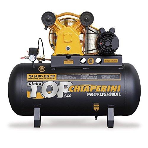 Compressor de Ar 10 PCM 2HP 110 Litros Monofásico-CHIAPERINI-TOP10MPV110LM