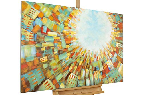Kunstloft® Cuadro en acrílico 'Light from Above' 120x80cm Pintado a Mano sobre Lienzo