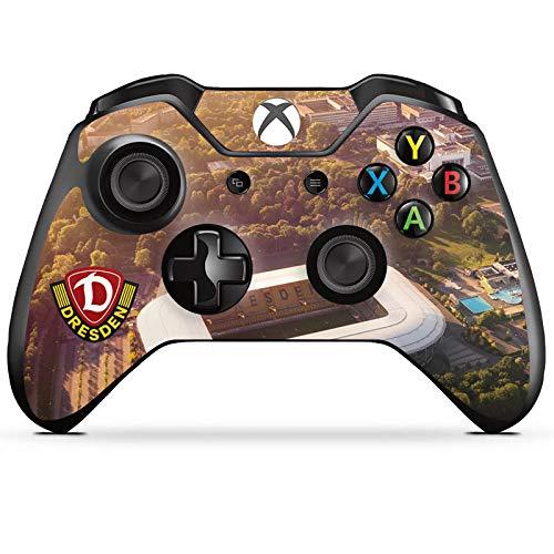 Skin kompatibel mit Microsoft Xbox One Controller Folie Sticker SGD SG Dynamo Dresden Stadion