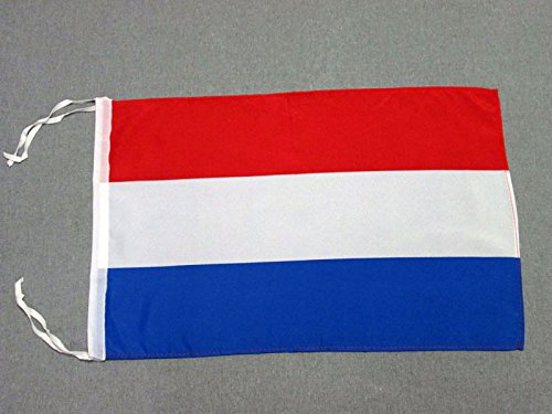 AZ FLAG Flagge Luxemburg 45x30cm mit Kordel - LUXEMBURGISCHE Fahne 30 x 45 cm - flaggen Top Qualität