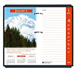 House of Doolittle 2020 Desk Calendar Refill, Daily, Earthscapes, Fits #17 Base, 3.5 x 6 I...