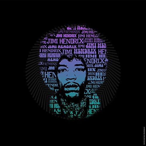 Stampa Artis 607,221 Jimi Hendrix Musica Legends Vetro Minerale GlassArt 50X50 Africano Discorso